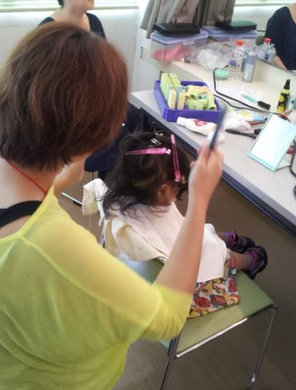 お子さんのヘア