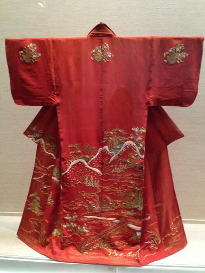 呉服商「大彦」小袖コレクションを見に東京国立博物館へ