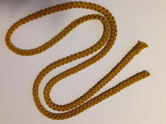 お教室で三分紐を作りました