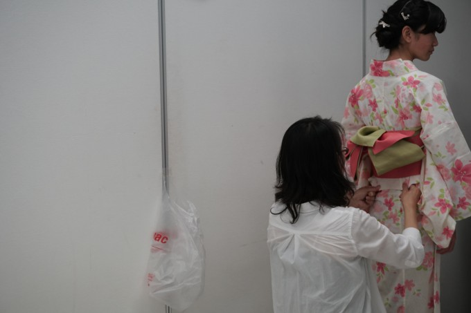 八王子での撮影会「5年目の笑顔を浴衣姿で」