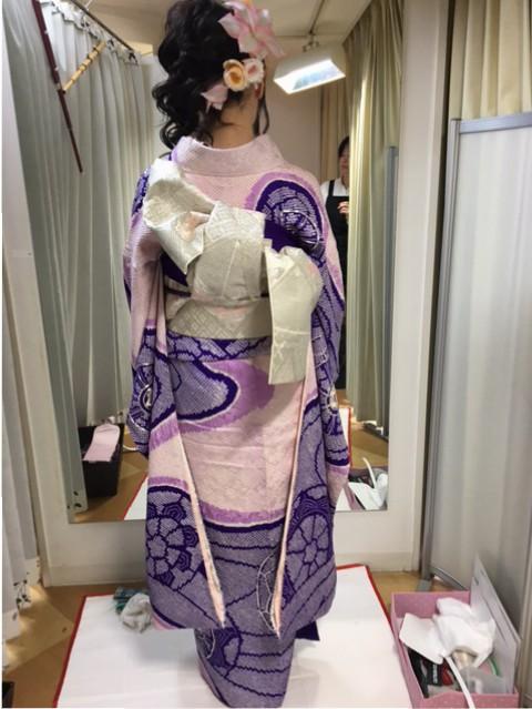成人式のお着付け2017…4人目のお嬢様