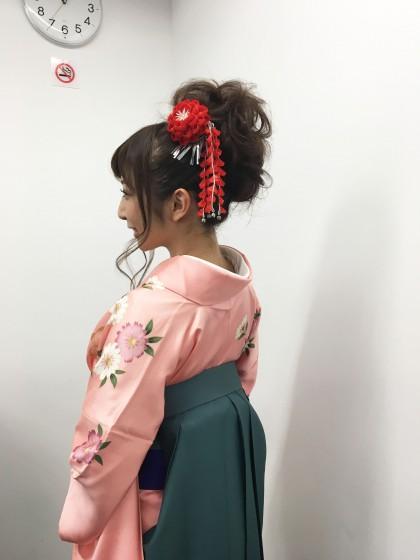 豆まきのお着付け2017.2.3